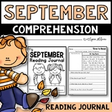 September Reading Comprehension Passages - Journal