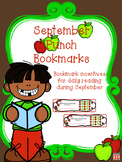 September Reading Incentive Bookmark: Reward Daily Reading in Any Grade Level