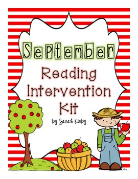 September Reading Intervention Kit