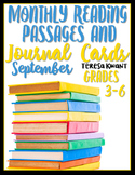 September Reading Passages
