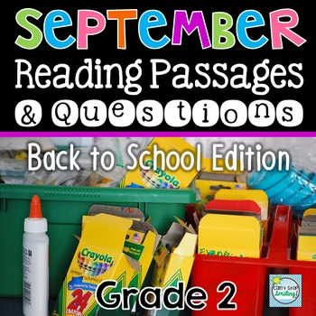 September Reading Passages Nonfiction with Questions