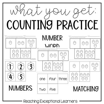 September SPED Math Adapted Workbook