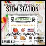 September STEM Activity | Engineer Inspiration | Printable