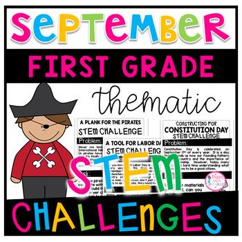 September STEM Challenges (First Grade)