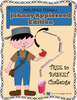 September STEM STEAM Challenge: Johnny Appleseed Tree to Basket Edition
