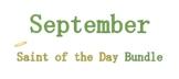 September Saint of the Day Bundle