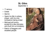September Saint of the Day