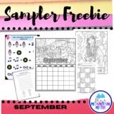 September Sampler Freebie