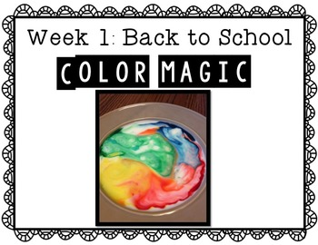 September Science Experiments & Activities