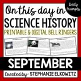 September Science History Bell Ringers