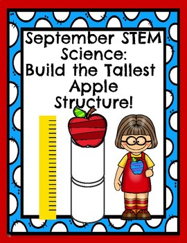 September Science STEM Build the tallest Apple Structure