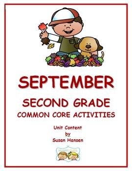 Second Grade September: Common Core Activities