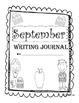 September Second Grade Writing Prompt and Jounral Pages (Common Core Aligned)