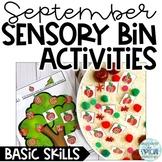 September Sensory Bin Activities - Basic Skills