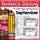 September Sentence Editing