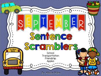 September Sentence Scramblers