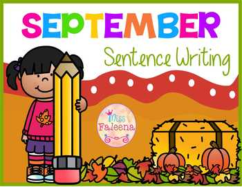 September Sentence Writing