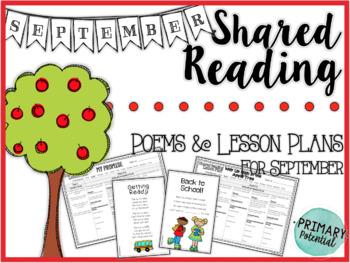 September Shared Reading: Poems and Lesson Plans