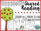 September Shared Reading: Poems and Lesson Plans