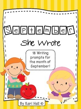 September, She Wrote!  My September Writing Journal 18 prompts!}{
