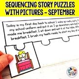 September Short Story Sequencing Jigsaws