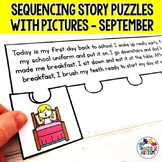 Sequencing Stories with Pictures for September