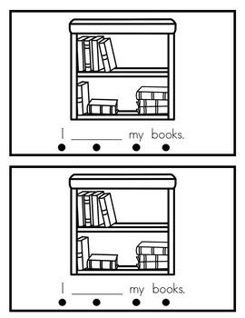September Sight Word Books