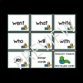 September Sight Word:  Partner, Print, and Play Board Games & Quick Assessment