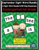 September Sight Words Bundle: 6 Autumn Emergent Readers/Wr