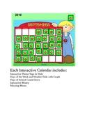 September Smartboard Calendar