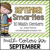 September Smarties {10 Math Centers}
