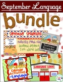 September Speech and Language Bundle - $ saving