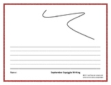 September Squiggle Write Pack