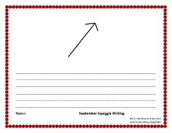 September Squiggle Write week 4