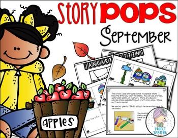 September Story Starter Sticks