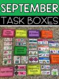 September Task Boxes
