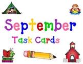 September Task Cards