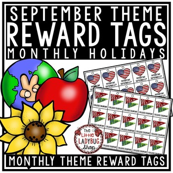 September Theme Brag Tags [Constitution Day, Hispanic Heritage Month]