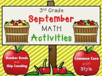 September Theme Math Activities