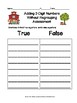 September Themed Addition Without Regrouping Sorting Activity & SCOOT