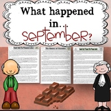 September Themed Reading Passages with Common Core Aligned Questions