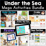 Ocean and Under the Sea Preschool and Prek Literacy and Ma