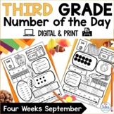 Number Sense Google Slides™ Third Grade Place Value Number