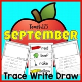 September Trace Write Draw
