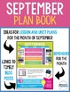 September Virtual Plan Book - Tips, Tricks, and Teaching I