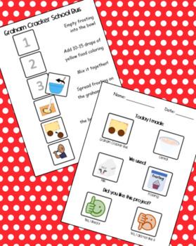 September Visual Recipes for Special Education and Early Childhood