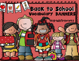 September Vocabulary Banners