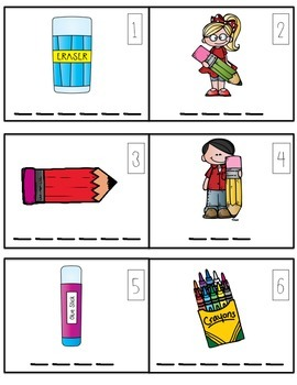 Back To School Word Wall Activities