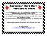 September Word Word