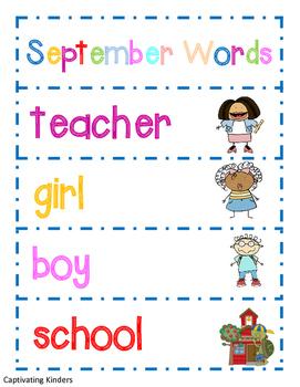 September Words